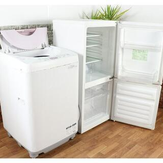 生活家電セット【ユーイング/冷蔵庫/110】+【シャープ/洗濯機...
