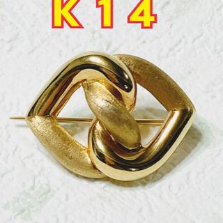 【ネット決済・配送可】【K14】ブローチ