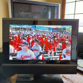 液晶テレビ 2台です!!  映像確認できました