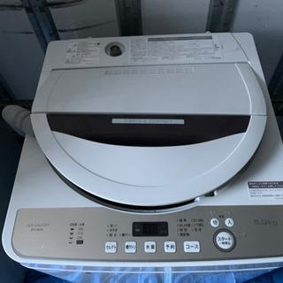 シャープ洗濯機6k 中古