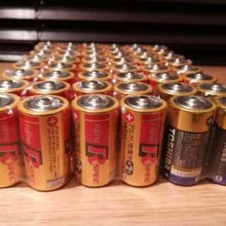 アルカリ乾電池 単2形 (使用期限切れ)48本