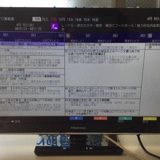 【RKG-1】特価!ハイセンス/24型液晶TV/HS24A220...