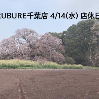 4/14(水)店休日🌸