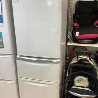 MITSUBISHI 三菱 3ドア冷蔵庫 MR-C34E-…