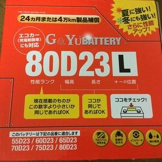 セレナで使っていたバッテリー美品 購入価格13000円