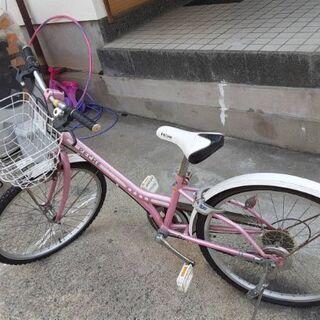 子供用の自転車の画像