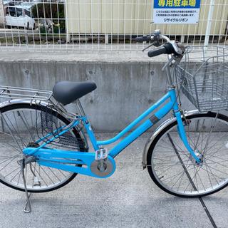 26インチ 内装3段 自転車 通勤 通学 学生 シティサイクル