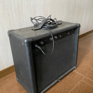 【ネット決済】古いギターアンプ