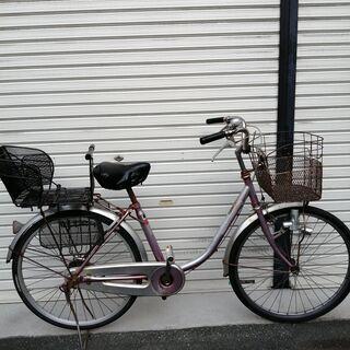 オンボロですが動く自転車