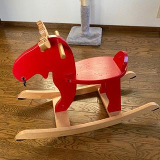 【ネット決済】IKEA製ロッキングムース 木馬 トナカイ