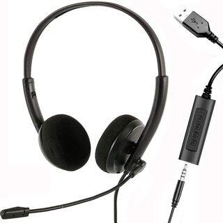 【新品・未使用】高音質 軽量ヘッドセット