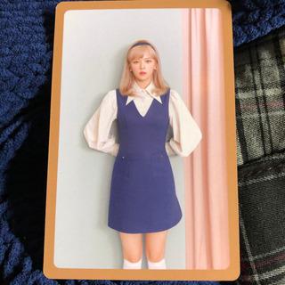 【ネット決済・配送可】TWICE ewo ジョンヨン カード