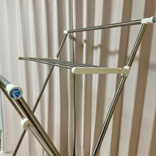 【4/24~4/29のお渡し】X型折りたたみ室内洗濯物干し竿✨