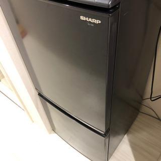 単身用冷蔵庫 シャープ 黒 2010年購入