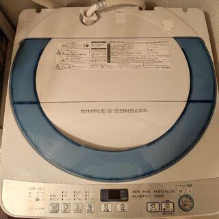 美品 2016年製★ シャープ 7kg 全自動洗濯機 ES-GE70R