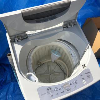 一人暮らし用洗濯機です
