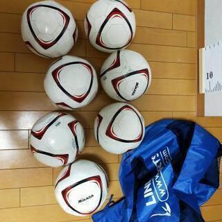 ミカサ サッカーボール 7個 サッカーボール入れ袋