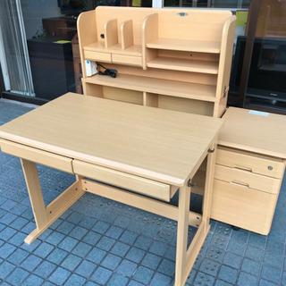 ※終了※その②【豪華セット】学習机 棚セット 椅子無し