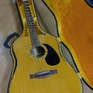 70s 昭和ヴィンテージ アコースティックギター美品ですよ😄