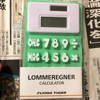 【ネット決済・配送可】シリコン電卓