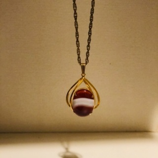 天然石のネックレス