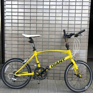 GIANT IDIOM 1 折りたたみ自転車 イエロー 小径スポーツ
