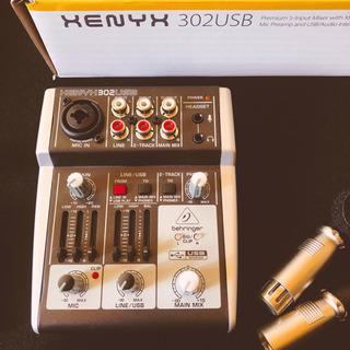 XENYX302USB (配信、ゲームセット)