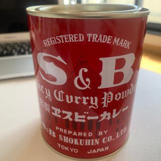 SBカレー赤缶 400g