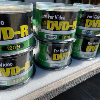 【ネット決済・配送可】DVD-R120分50pack×6+ケース...