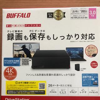 外付けHDD PC用&TV録画用  3TB]