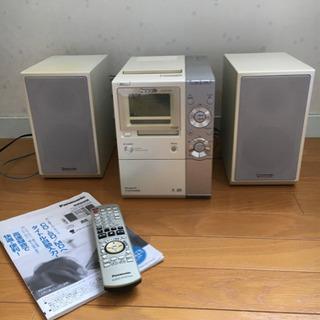 【リモコンなし】Panasonic製 ミニコンポ SA-PM770SD