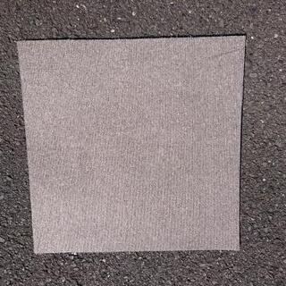 グレー色タイルカーペットをお譲り致します。50cm×50cmで50枚