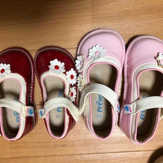 女の子用 ベビー靴