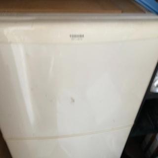 冷蔵庫あげます 2ドア冷蔵庫 東芝 GR-118TN 冷凍35L...