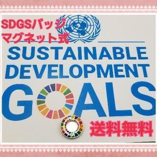 【GW中の対応可】在庫僅か 国連SDGsバッジ(マグネット…