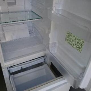 [配達無料][即日配達も可能?]冷凍冷蔵庫 137L SHARP SJ-D14A-W 2015年製 - 家電