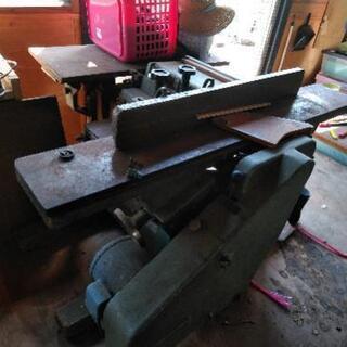 自動万能木工盤ほか、建具制作機械一式