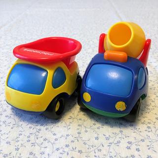 ミキハウス 小さい車のおもちゃ