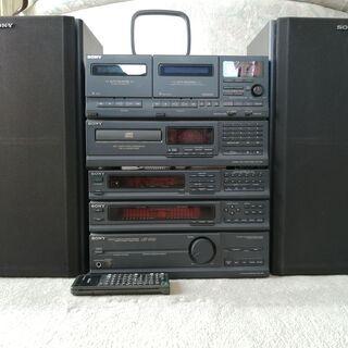 古いソニーのコンポ