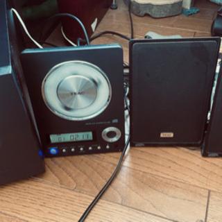 【ネット決済】TEAC CDサウンドシステム CD-X10i
