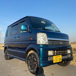 エブリィワゴン 4WD ハイリフト リフトアップ ターボ