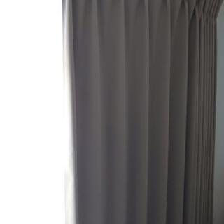 オーダーカーテン 幅190cm 丈218cm 1枚 サンド…