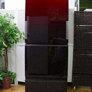 hシャープ SJ-GW35F-R [プラズマクラスター冷蔵庫 (...