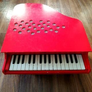 KAWAI 河合楽器 ミニピアノ 赤