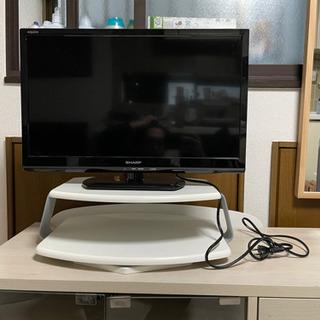 テレビ、テレビ台×2 セット 型番LC-24K20