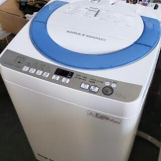 【7kg洗濯機】節水の穴なし槽♪お安くお譲り☆
