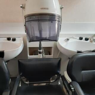美容室用ドライヤー 椅子付き 追加掲載 差し上げます