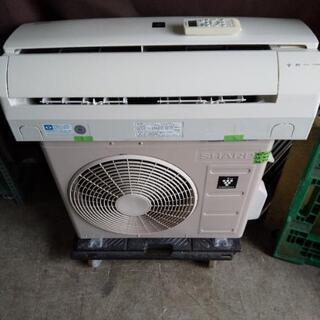 佐賀中古エアコン、シャープ2014年22KW132番