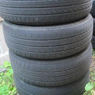 フィットに使ってたタイヤとホイール売ります。