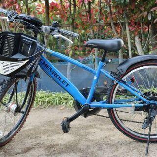 【子供用自転車】シボレーマウンテンバイク22インチ